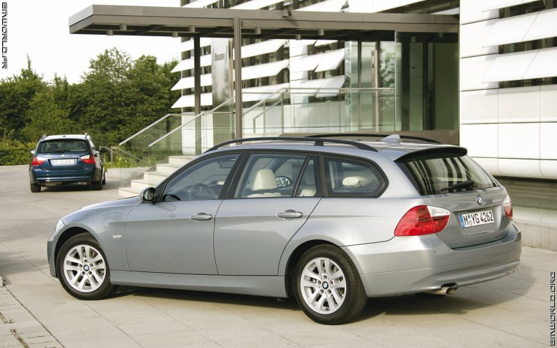 2005 BMW 320d Touring E91 related infomation,specifications - WeiLi ...