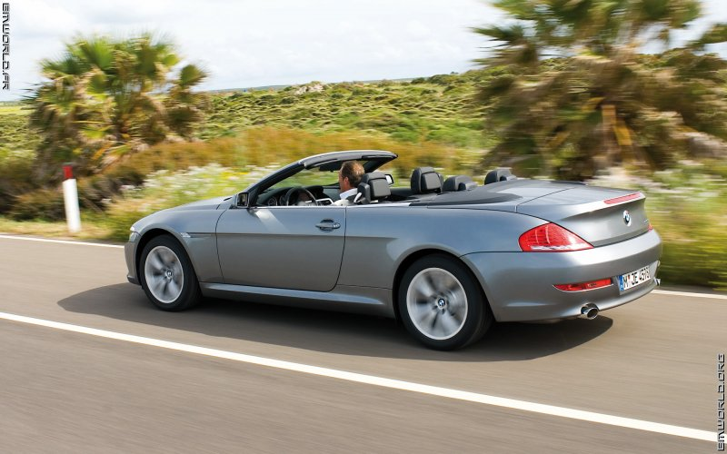 650i e64 cabriolet 2007 voiture de s rie fonds d 39 cran le monde des bmw. Black Bedroom Furniture Sets. Home Design Ideas