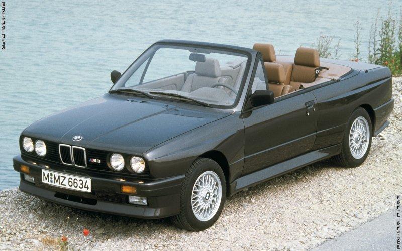 m3 e30 cabriolet 1988 voiture de s rie fonds d 39 cran le monde des bmw. Black Bedroom Furniture Sets. Home Design Ideas