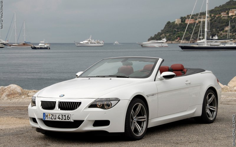 m6 e63 cabriolet 2006 voiture de srie fonds d 39 cran le monde des bmw. Black Bedroom Furniture Sets. Home Design Ideas